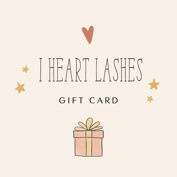 I Heart Lashes eGift Card
